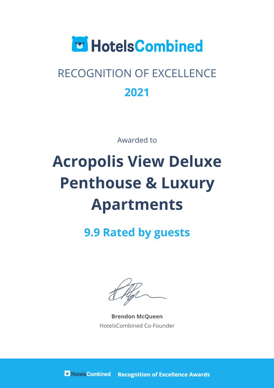 Acropolis View Deluxe Pethhouse & Luxury Apartments