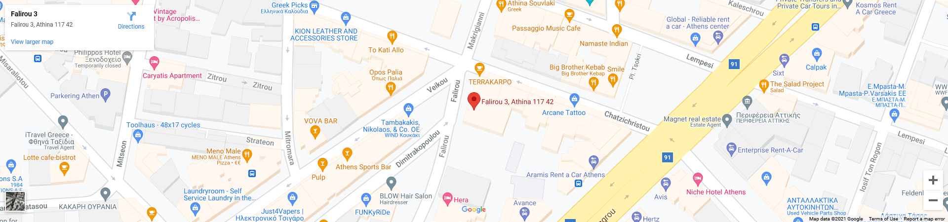 Acropolis View Deluxe Penthouse Luxury Apartments Travelvibes Google Maps